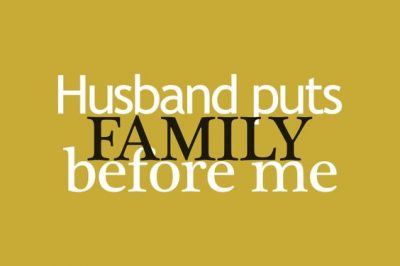 Funny Quotes On Putting Family First