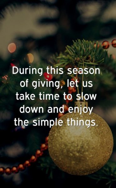 Inspirational Christmas Picture Quotes