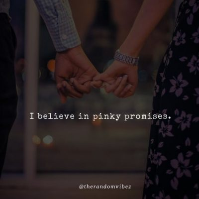Love Pinky Promise Quotes