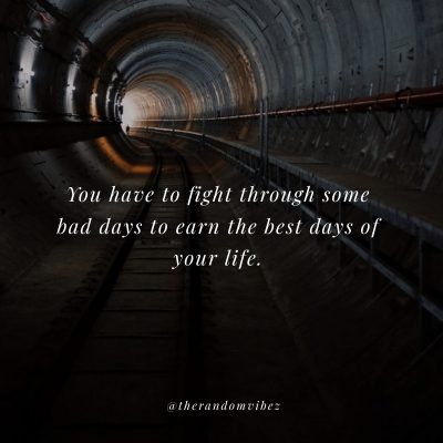 Positive Tunnel Quotes Images