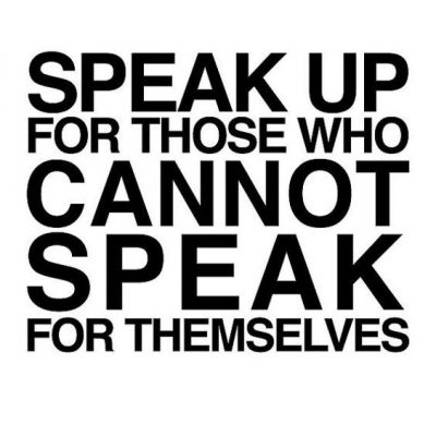 Speak Up Quotes