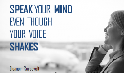 Speak Your Mind Quotes