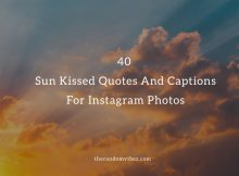Sun Kissed Quotes And Captions
