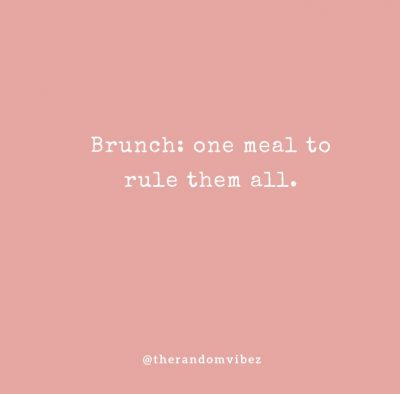 Brunch Quotes Images