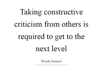 Constructive Criticism Sayings