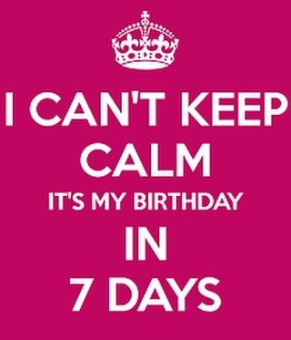 Countdown Begins For Birthday Quotes