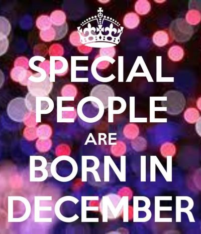December Birthday Month Quotes