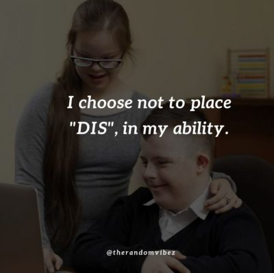 Disability Quotes Down Syndrome