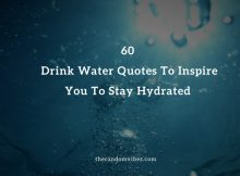 Drink Water Quotes And Sayings