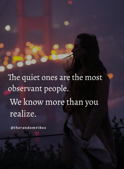 Quiet People Quotes Images