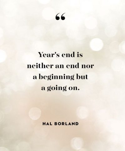 Short End Of The Year Quotes
