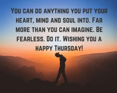Thursday Motivational Quotes