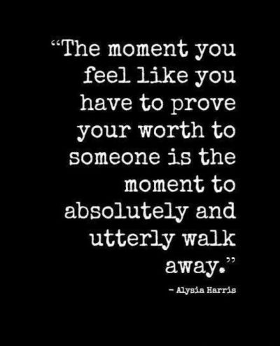 Walk Away Sayings