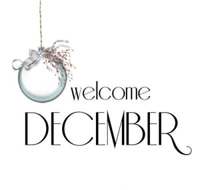 Welcome December Background Pic