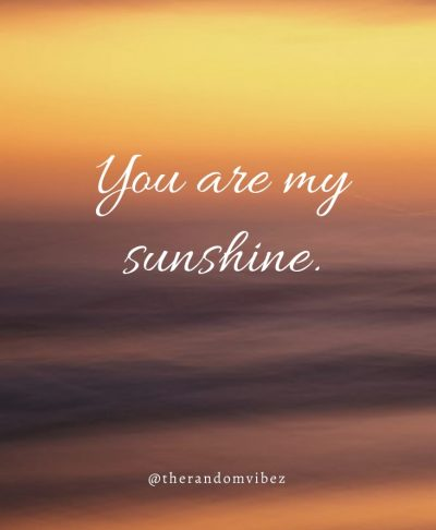 You are my sunshine Quotes For Son