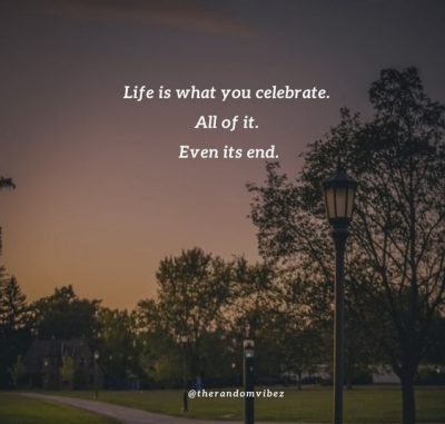 End Of Life Sayings