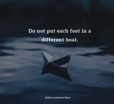 Famous Boat Sayings