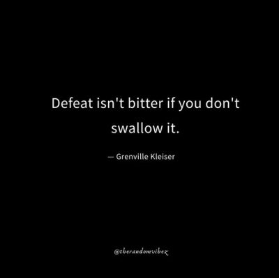 Feeling Defeated Quotes Images