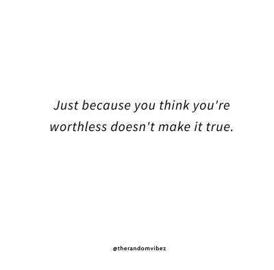 Feeling Worthless Quotes Images Tumblr