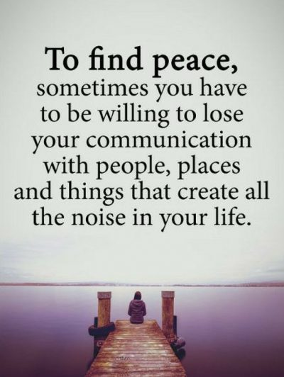 Finding Peace Quotes