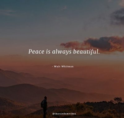 Finding Peace Quotes Images