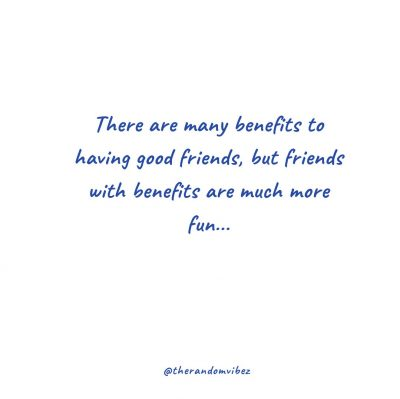 Friends With Benefits Funny Sayings