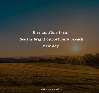 Good Morning New Day Quotes