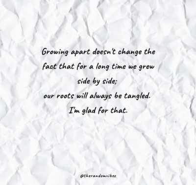 Growing Apart Pictures