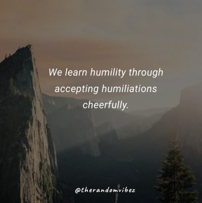 Humble Funny Quotes