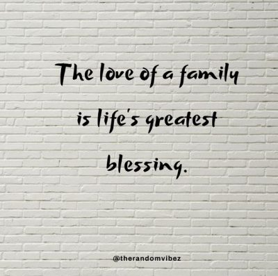 Inspirational Quotes About Family Strength