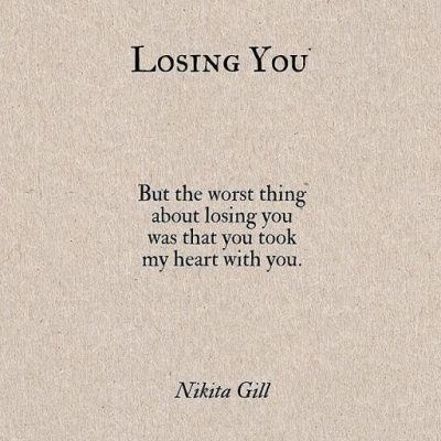 Losing Picture Quotes For Her