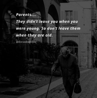 Love Your Old Parents