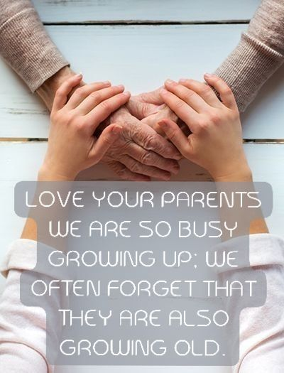 Love Your Parents Sayings