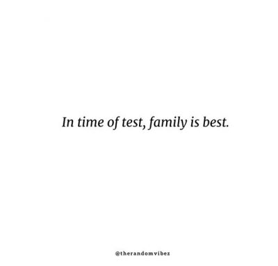 Meaningful Short Family Quotes