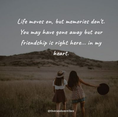 Missing Friends Quote