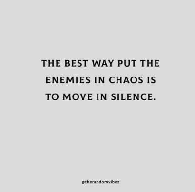 Move Silently Quotes