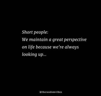 Positive Short People Quotes
