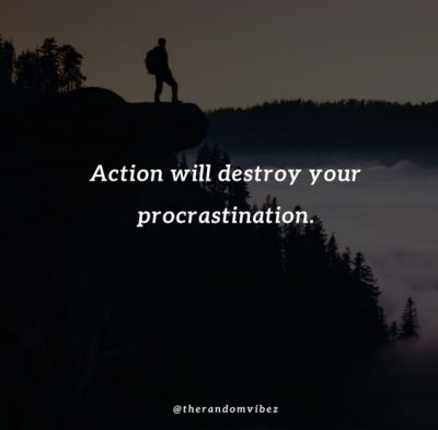 Procrastination Quotes For Students