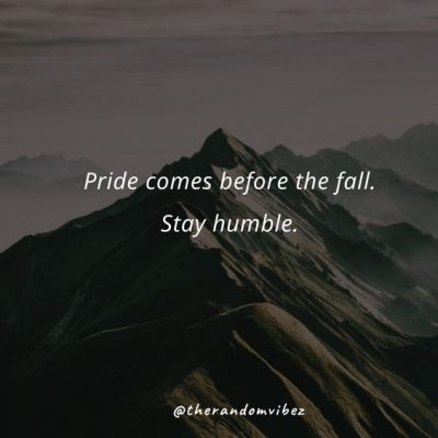 Quotes About Being Humble