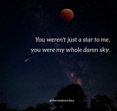 Quotes About Love And Stars Sky