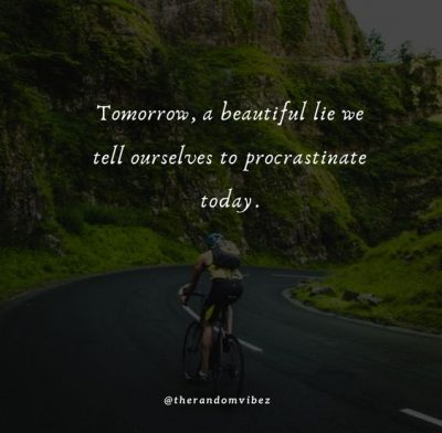 Quotes About Procrastination