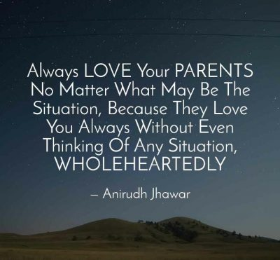 Quotes To Appreciate Your Parents