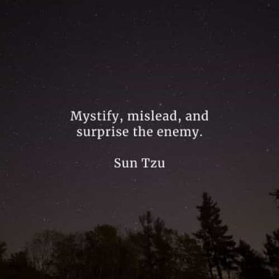 Sun Tzu Pic About Enemy