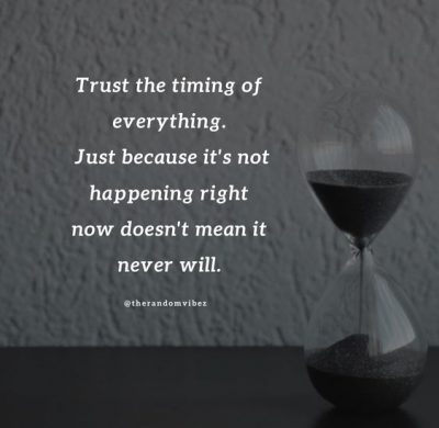 Time Is Everything Quotes