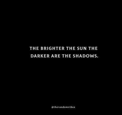 Words About Shadows