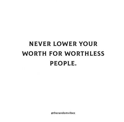 Worthless People Quotes