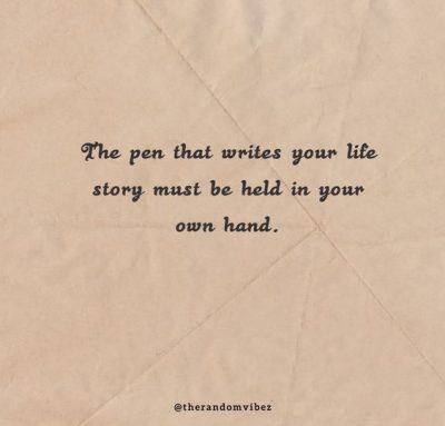 Write Your Own Story Quotes