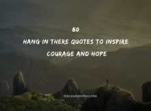 80 Hang In There Quotes To Inspire Courage And Hope