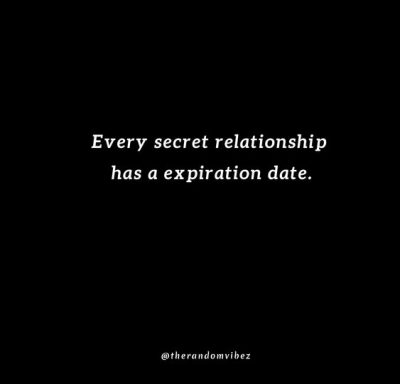 Hidden Secret Relationship Quotes