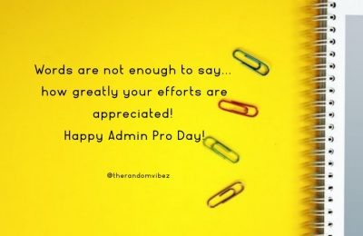 Happy Administrative Professional Day 2021
